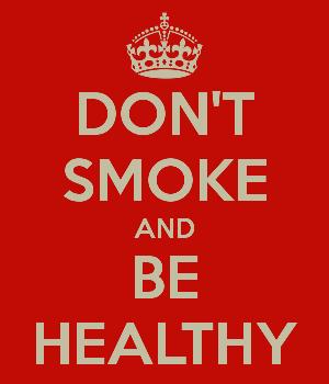 Choose smokin' over smoke